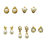 <b>Product: </b>  Freshwater Hyderabad natural pearl earrings<br><br>