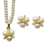 <b>Product: </b>Freshwater Hyderabad natural Pearl Set <br><br>