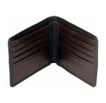 Send this branded hidesign wallet made of comfortable soft leather and sufficient space for credit cards, currency and license. Colour as per your choice. (Brown or Black).<br /><br />Shipping time 3-4 working days